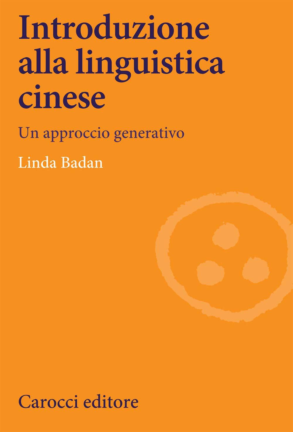 Introduzione alla linguistica cinese