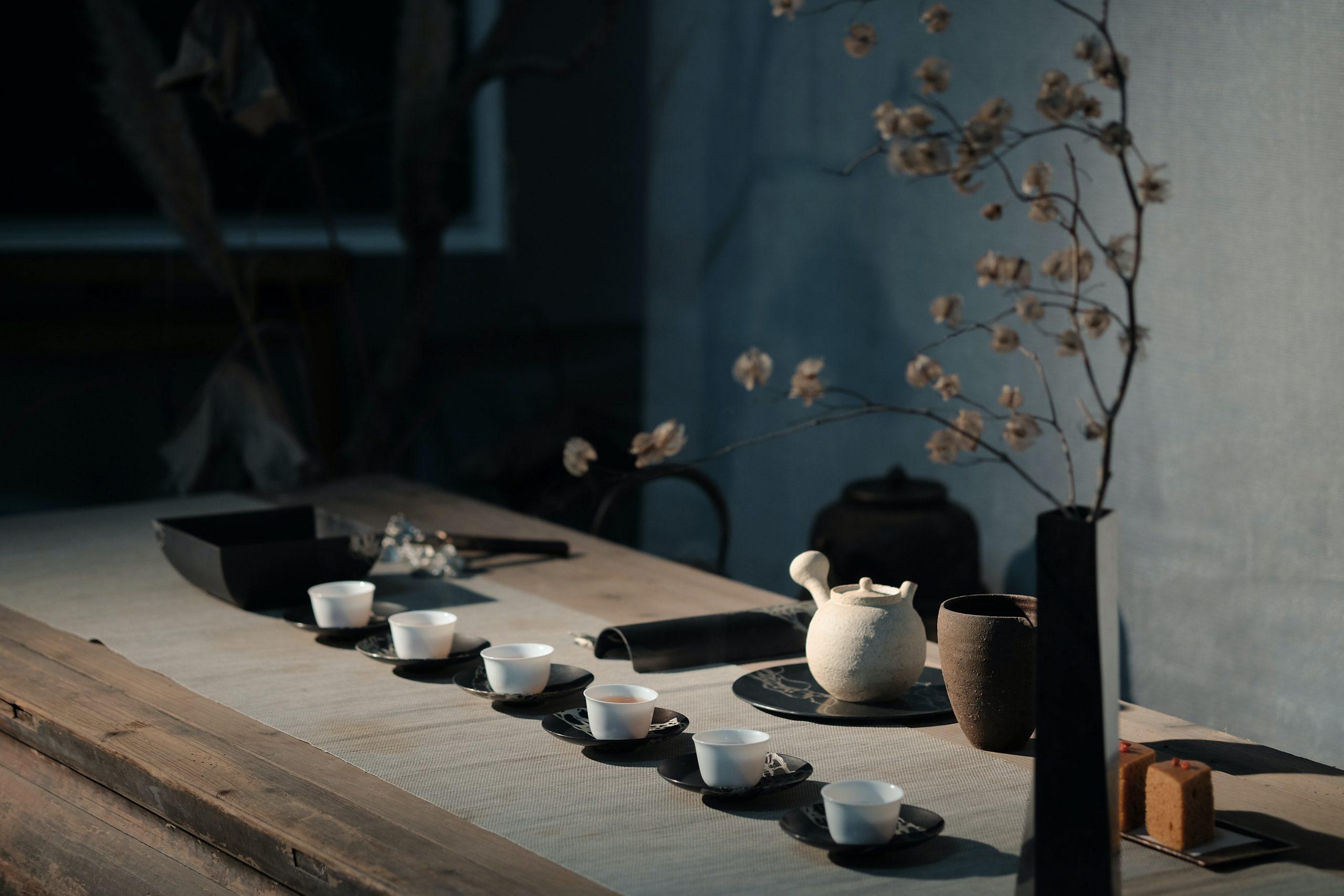 Degustazione di tè al Mao